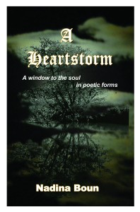 A Hearstorm poetry collection cover